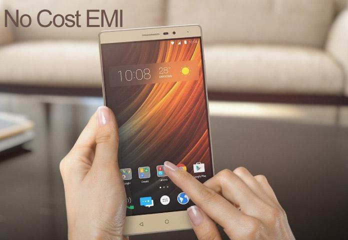 Lenovo Mobiles no Cost EMI