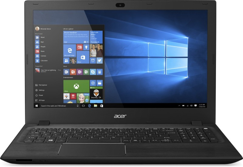 Acer Aspire F15 Core i3 5th Gen - (4 GB/1 TB HDD/Windows 10 Home) NX.G9ZSI.001 Notebook(15.6 inch, Charcoal Black, 2.4 kg)