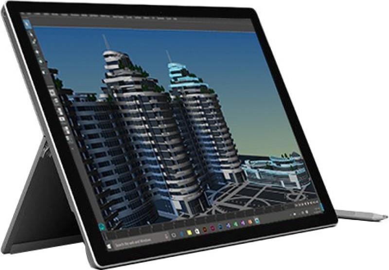 Microsoft Surface Pro 4 Core i7 6th Gen - (16 GB/512 GB SSD/Windows 10 Home) 1724 2 in 1 Laptop(31.242 cm, SIlver, 0.78 kg)