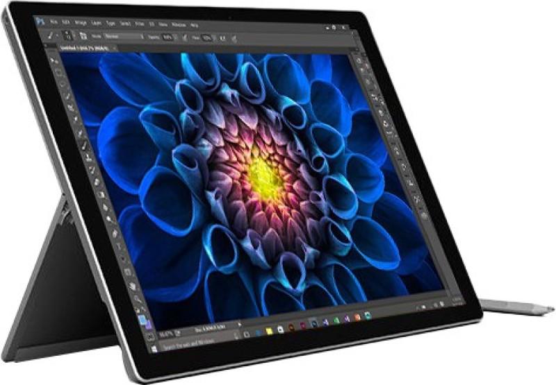 Microsoft Surface Pro 4 Core i7 6th Gen - (8 GB/256 GB SSD/Windows 10 Pro) 1724 2 in 1 Laptop(31.242 cm, SIlver, 0.78 kg)